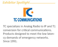 Exhibitor Spotight: About -TC Comm